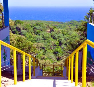 Join South Shore canopy zip line fun and Roatan Eco Park adventures with amazing south shore views! Be the first to enjoy our New Zuperman zip line tour!