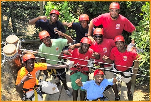 Our staff will be ready to greet you and get you started on your fun Roatan Zipline and Eco Walk through the jungle.
